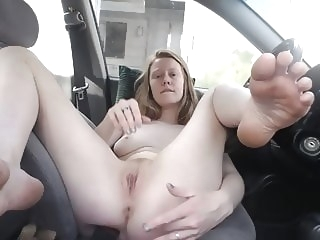 Redhead Faith Hatch - Finger me at the rest stop top rated redhead hd porn