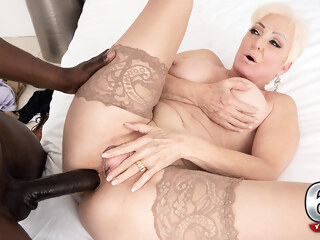 It's Big, It's Black And It's Cumming In Seka's Ass - Seka Black And Jax Black - 60PlusMilfs big ass big tits hd porn