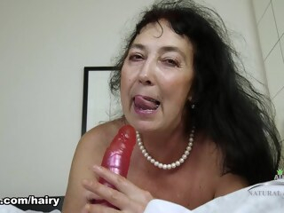 Esmeralda in Mature And Hairy Movie - ATKHairy big tits brunette hd porn